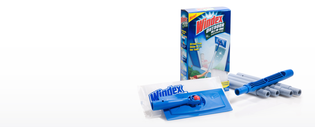 Windex. Revolutionary Glass Cleaning Tool